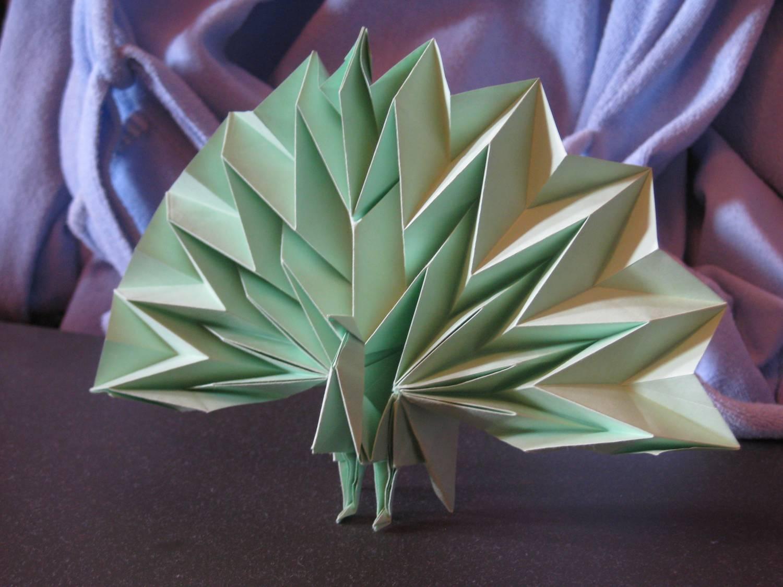 оригами рыбка схема сатоши