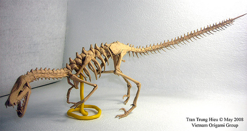 Paper Craft Dinosaurs Papertoy Models Origami Mary