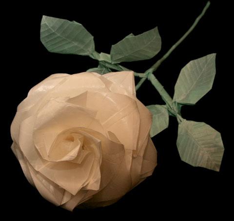 Однако оригами роза Кавасаки - работа настолько Оригами роза Кавасаки - Оригами цветы из.