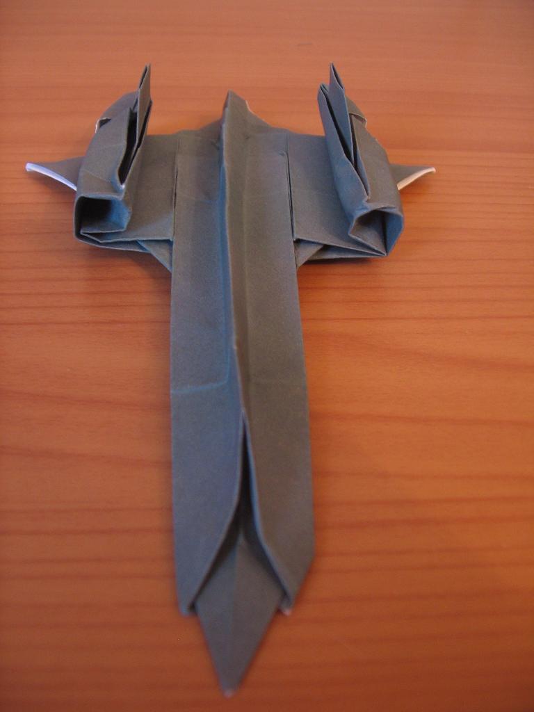 хармоник: как сделать самолёт оригами самолёт шпион