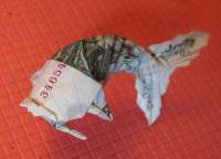 рыба из денежных купюр что нужно для