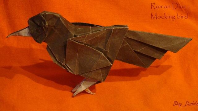 Клюв вороны из картона своими руками 13