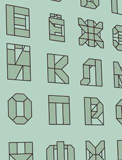 Оригами алфавит (кириллица)
