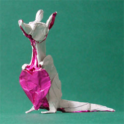 Origami Rat