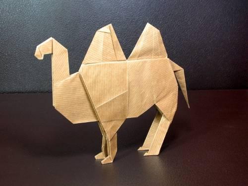 Как сделать верблюд из бумаги